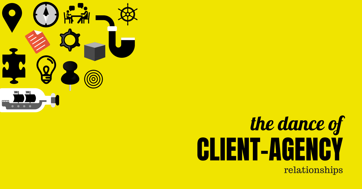 The dance of client-agency relationships: it's professional, but it's human too.